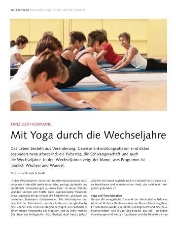 Mit Yoga durch die Wechseljahre - ChiYoga