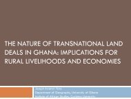 Module 2: New in Ghana (Yaro) - Land Tenure and Property Rights ...