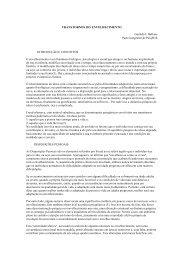 TRANSTORNOS DO ENVELHECIMENTO Geraldo J. Ballone Parte ...