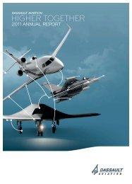 2011 Annual Report - application/pdf - Dassault Aviation