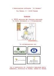 """L'Associazione Culturale """"Il Cavedio"""" - Concorsi Letterari"""