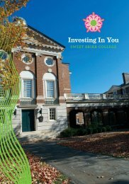 Download the investment brochure - Sweet Briar College