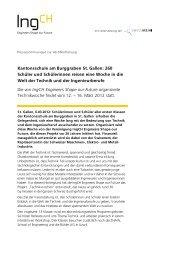 Kantonsschule am Burggraben St. Gallen - Engineers Shape our ...