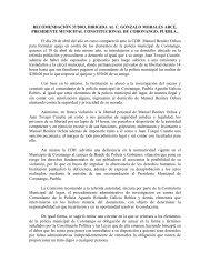 RECOMENDACIÓN 37/2003, DIRIGIDA AL C. GONZALO ...