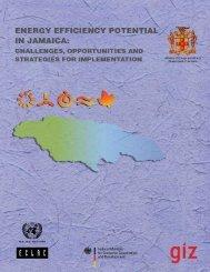 Energy efficiency potential in Jamaica: challenges ... - Cepal