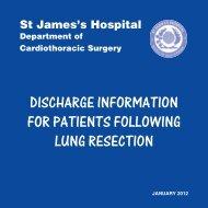 Discharge Information (PDF 3141Kb) - St. James's Hospital