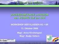 Download Impulsvortrag als pdf-Datei - BG /BRG Zell am See