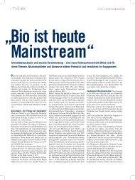 Umweltbewusstsein und soziale Verantwortung – eine ... - Jana Kern