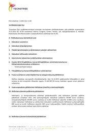 Pörssitiedote 1.3.2013 klo 11.00 YHTIÖKOKOUSKUTSU Tecnotree ...