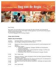 Uitnodiging dag van de regio2