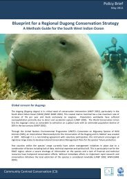 Blueprint for a Regional Dugong Conservation Strategy - C3