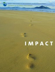 impact - Bren School of Environmental Science & Management ...