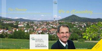 Wir in Hauzenberg - Reiner Klee