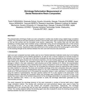 Dissertation measure restorative