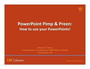 PowerPoint - Presentation Tips.pdf