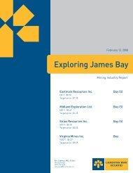 Exploring James Bay - VMBL