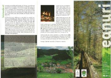 Impresión de fax de página completa - Senderismo Euskadi