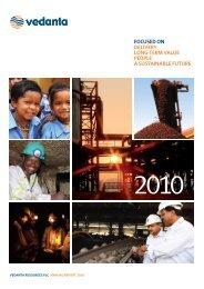 Download full report / PDF 7.5 MB - Vedanta - Annual Report 2010
