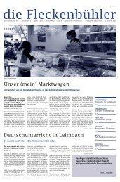 Ausgabe 2/2009 - die Fleckenbühler