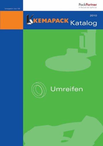 """Kemapack Katalog """"Umreifen"""""""