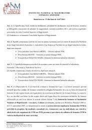 Hotarare 13_14_07_2011 .pdf - Institutul Naţional al Magistraturii