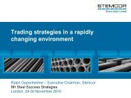The role of the steel trader in Central and Eastern Europe