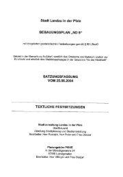 Stadt Landau in der Pfalz - Das WebGIS der Stadt Landau in