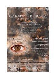 CARMINA BURANA (Carl Orff 1895-1982) - Centre Artístic Musical ...