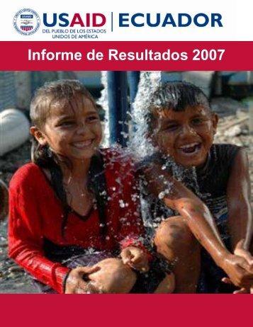 Results Report - Embajada de los Estados Unidos Quito, Ecuador