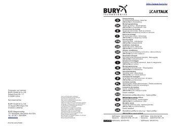 Uni CarTalk IV kihangosító telefontartó használata - Bury