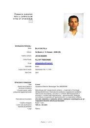 CV Salvatore Vella - Ordine dei Geologi della Lombardia
