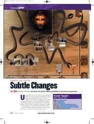 Subtle Changes - Linux Ink