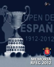 comité - Real Federación Española de Golf
