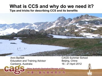 4.3 Anni Barlett - What is CSS and Why do We Need It ... - CAGS
