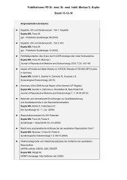 Publikationen PD Dr. med. Dr. med. habil. Markus - IVF ...