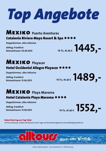 Mexiko Puerto Aventuras Catalonia Riviera Maya Resort & Spa ...