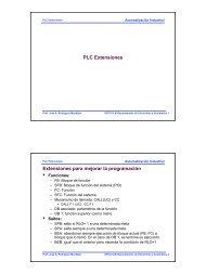 8plcext - Departamento de Electrónica y Automática