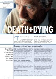 DEATH+DYING - Christian Medical Fellowship