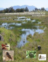 RCA 2011 Annual Report - Western Riverside County Regional ...