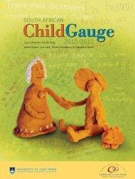 South African Child Gauge 2010/2011 - Children's Institute