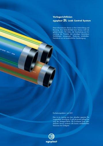 Verlegerichtlinien egeplast 3L Leak Control System