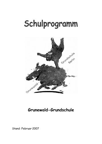 1. Unsere Schule - Grunewald - Grundschule