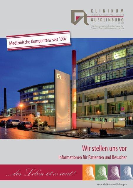 Klinik für Allgemein-, Viszeral- und Gefäß - Klinikum Quedlinburg