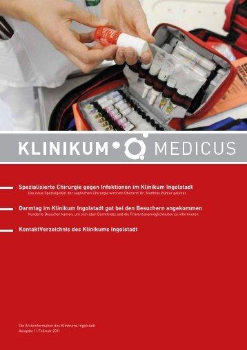 Ausgabe 1   2011 - Klinikum Ingolstadt