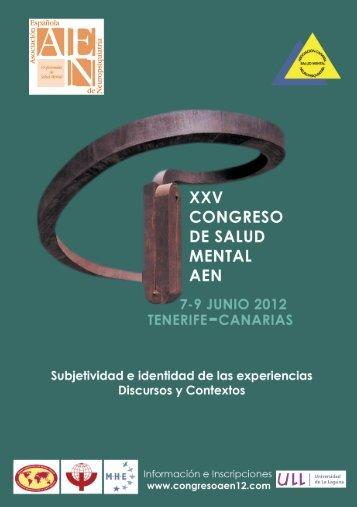 Programa. - Asociación Española de Neuropsiquiatría