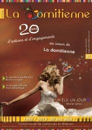 Magazine n° 32 - Communauté de communes La Domitienne