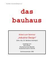 Bauhaus - Kunst und Kunstunterricht