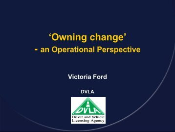 Owning change - Association for Project Management
