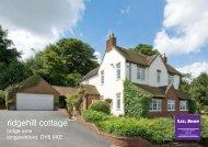 ridgehill cottage - Lee Shaw Partnership