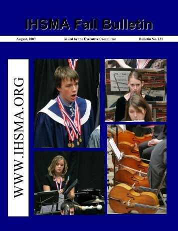 Fall Bulletin No. 231 - August 2007 - The Iowa High School Music ...